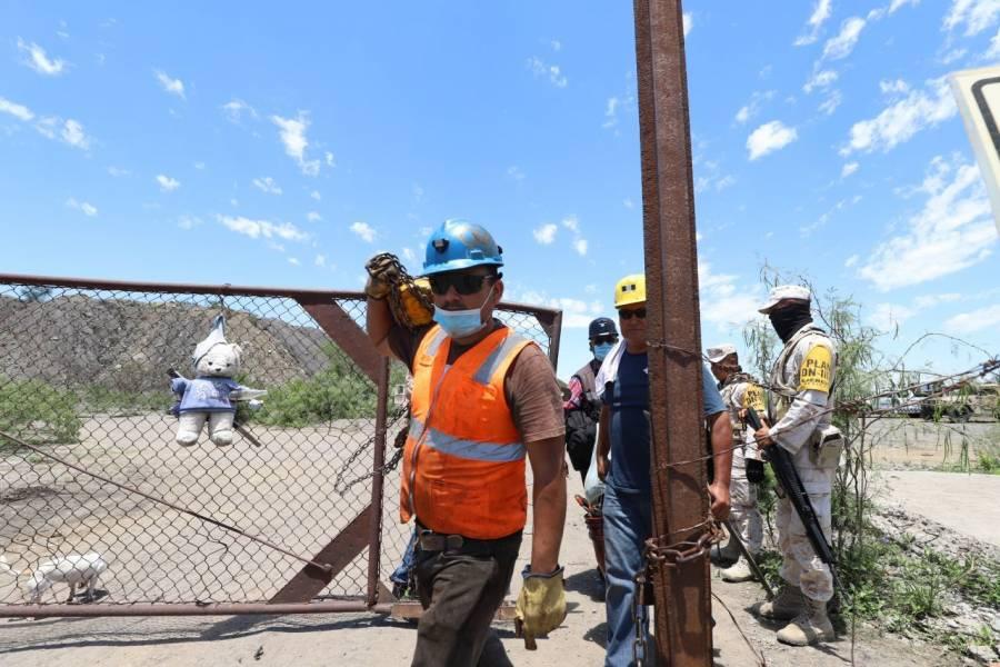 Rescatan cuerpo de quinto trabajador tras derrumbe de mina en Múzquiz, Coahuila