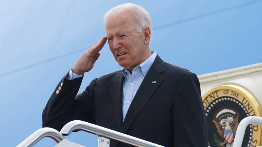 Joe Biden realizó su primer viaje a Europa como presidente de EEUU