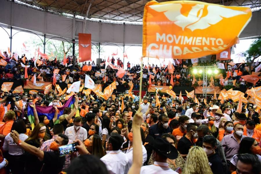 MC recupera registro en la CDMX y será equilibrio en alcaldías y en el Congreso: Royfid Torres