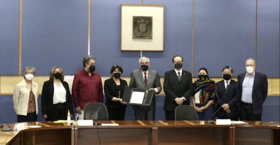 UNAM y SEP firman convenio para integrar sistema de información de educación superior