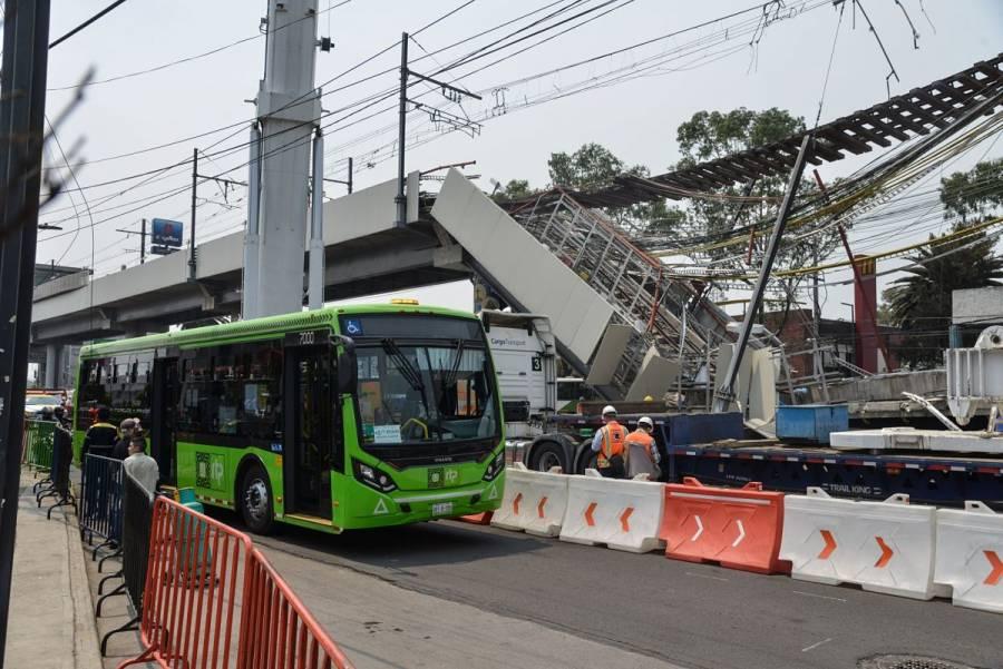 Indemnizan con 650 mil pesos a 21 familias de víctimas por derrumbe en Línea 12 del Metro