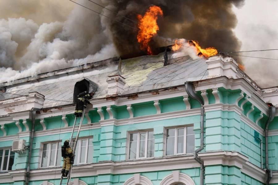 Incendio en hospital de Rusia deja 3 muertos