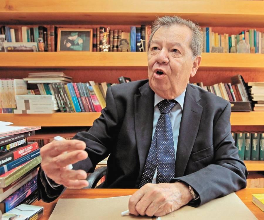 """Se disipó el temor a un gobierno autoritario"""": Muñoz Ledo"""