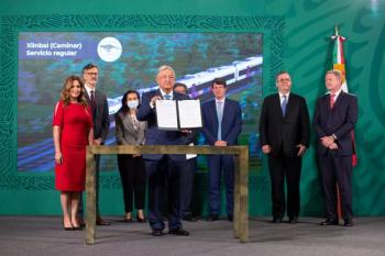 Bombardier-Alstom fabricará en México ferrocarriles de Tren Maya