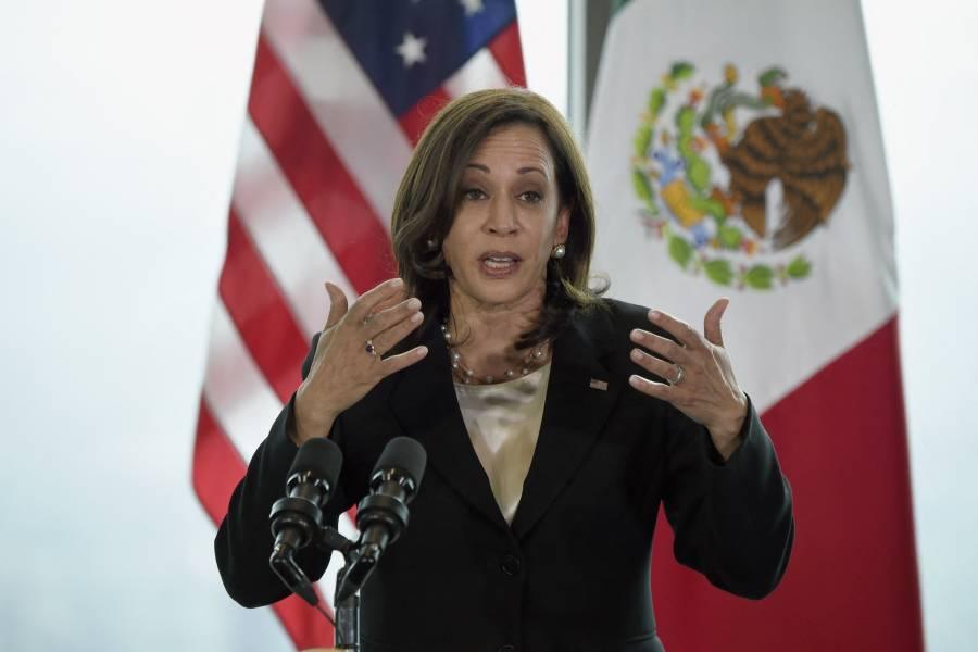 Pidió Kamala a México y Guatemala dejar trabajar a la prensa y a ONG