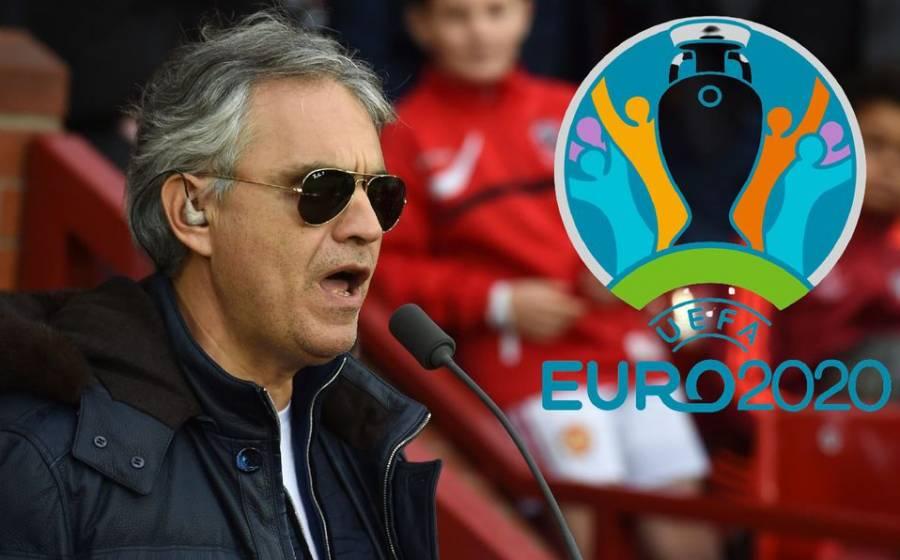 Cantará Andrea Bocelli en la ceremonia de apertura de la Eurocopa 2021