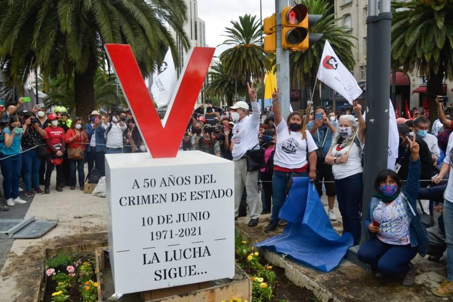 """Exigen castigo del """"Halconazo"""" a 50 años del suceso"""