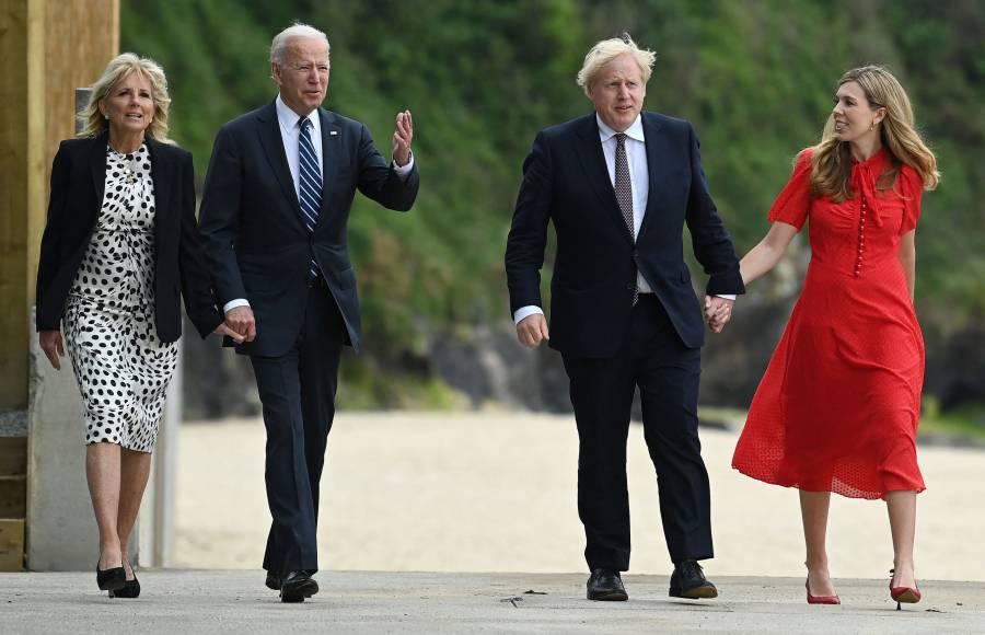 Celebran Biden y Johnson alianza pese a las diferencias sobre Irlanda del Norte