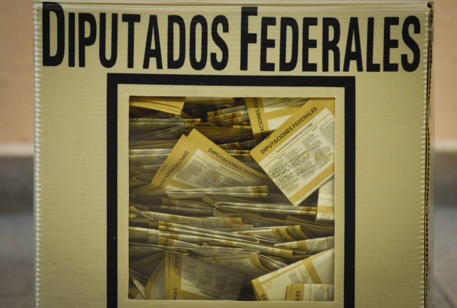 60% de paquetes electorales de diputados federales, serán abiertos para su recuento