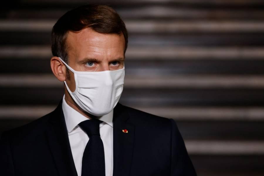 Macron pide a farmacéuticas donar el 10% de sus dosis anticovid a países pobres