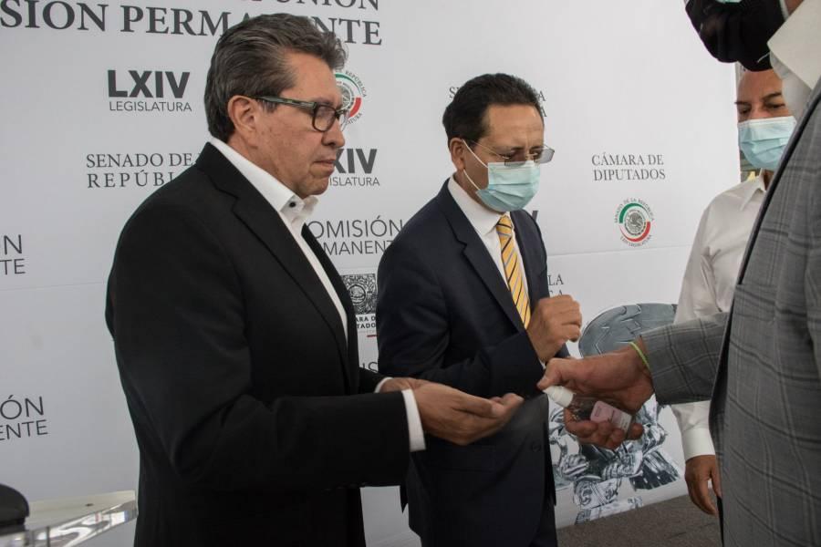 Propuestas para Banxico y SHCP consolidarán estabilidad económica: Monreal