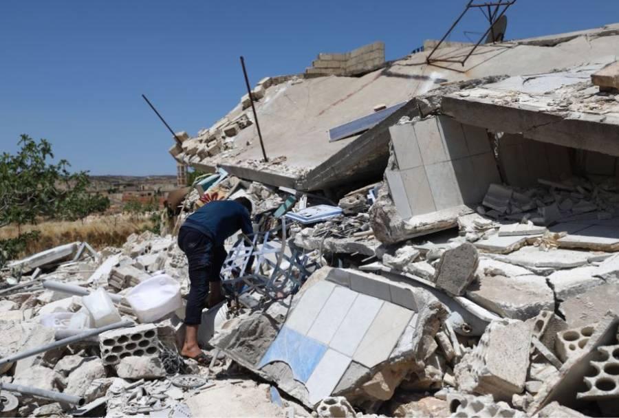 Diez muertos en Siria en un bombardeo del régimen en Idlib