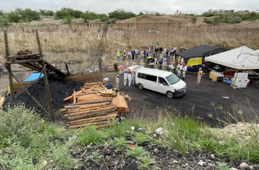 Recuperan cuerpo de sexto minero en Múzquiz, Coahuila