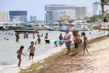 Turismo extranjero en México aumentó en abril casi 200%