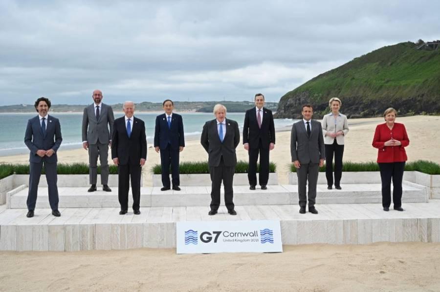 El G7 se abre en Inglaterra con el clima y las vacunas como prioridades