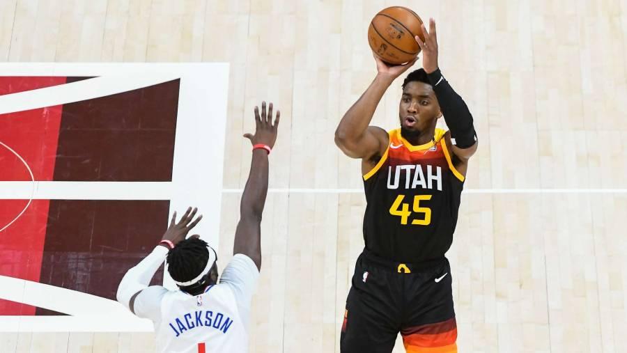 Los Jazz de Utah toman la delantera 2-0 ante los Los Angeles Clippers