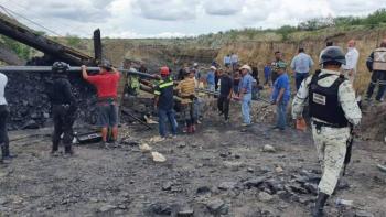 AMLO confirma rescate de cuerpos de los siete mineros en Múzquiz, Coahuila
