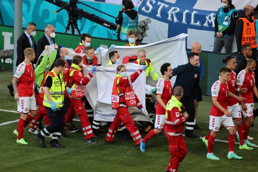Christian Eriksen se desvanece y el Dinamarca-Finlandia queda suspendido