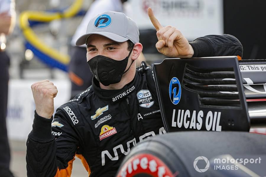 Mexicano O'Ward gana su segunda carrera de IndyCar