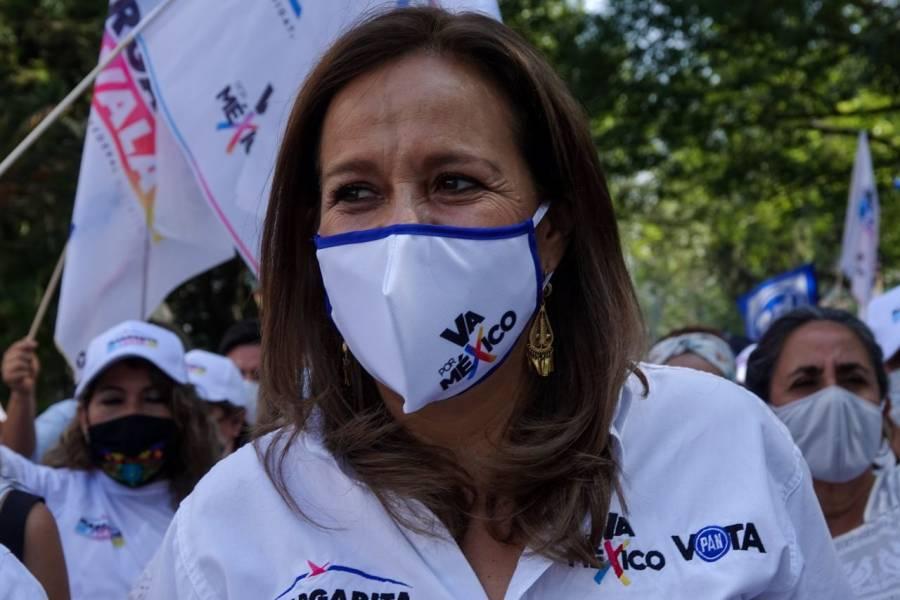 Margarita Zavala pide a Javier Hidalgo