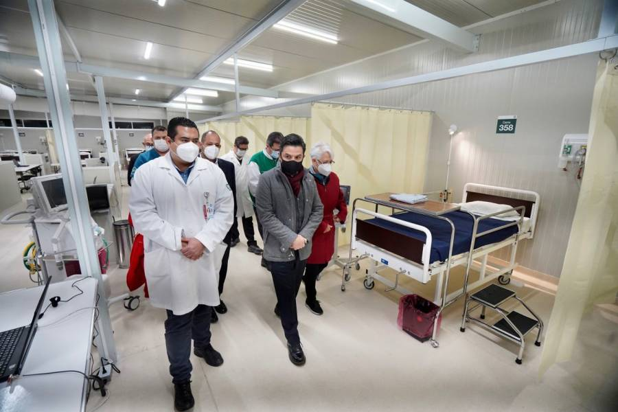 IMSS reconvirtió casi 20 mil camas para atender a pacientes con COVID-19