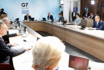 G7 acuerda donar mil millones de vacunas contra Covid-19 a países desfavorecidos