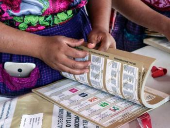 INE inicia cómputo de votos para repartición de plurinominales