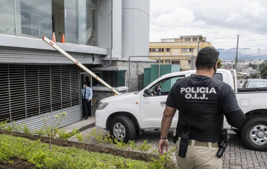 Catean Casa Presidencial y otras instituciones en Costa Rica por supuesta red de sobornos