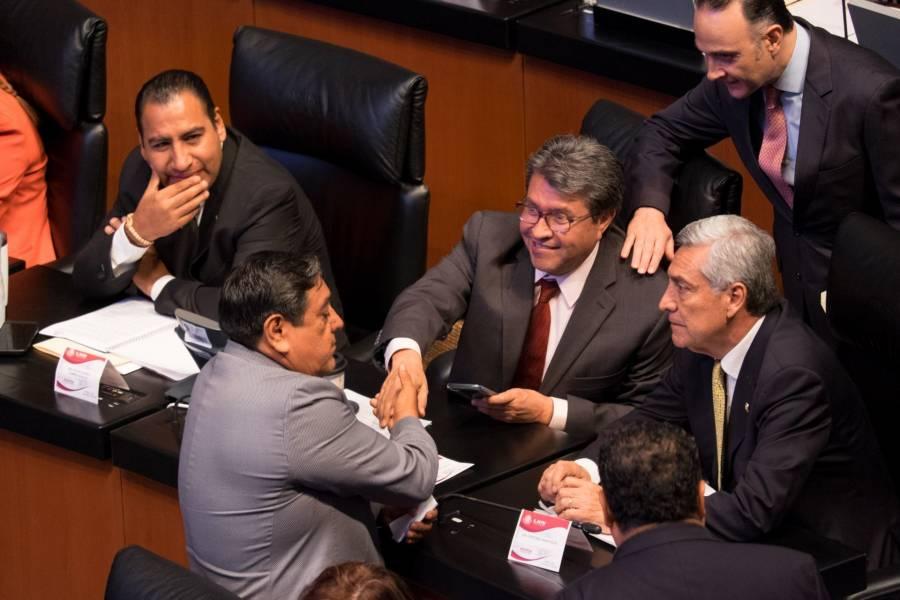 Ricardo Monreal asegura que Salgado Macedonio es bienvenido en el Senado