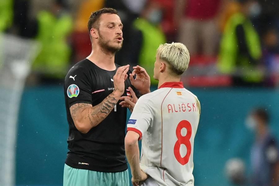 UEFA abre investigación disciplinaria contra el austríaco Marko Arnautovic