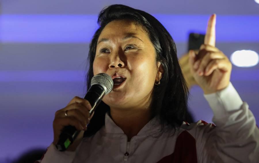 Rechaza Fujimori resultados de elección en Perú; faltan actas por contar, dice