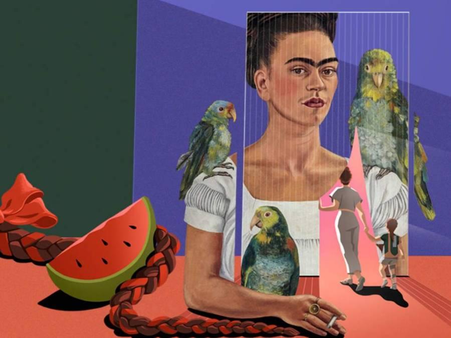 Llega a México exposición interactiva sobre Frida Kahlo