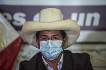Pedro Castillo obtiene 50% de votos a la presidencia de Perú