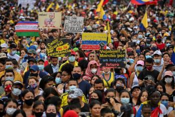 En Colombia, suspenderá el Comité del Paro temporalmente las protestas