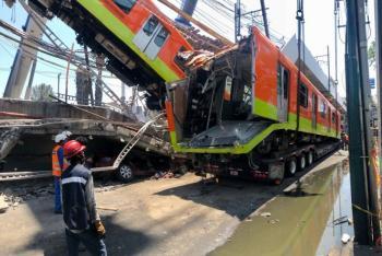 Esta semana se dará a conocer peritaje internacional sobre el colapso del metro
