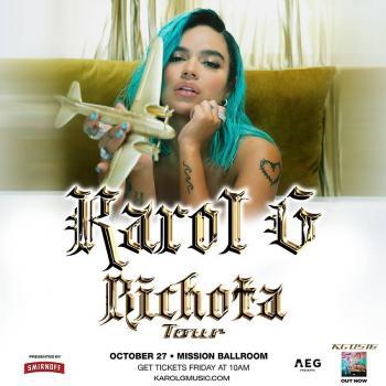 """Karol G anuncia su """"Bichota tour"""" por Estados Unidos"""