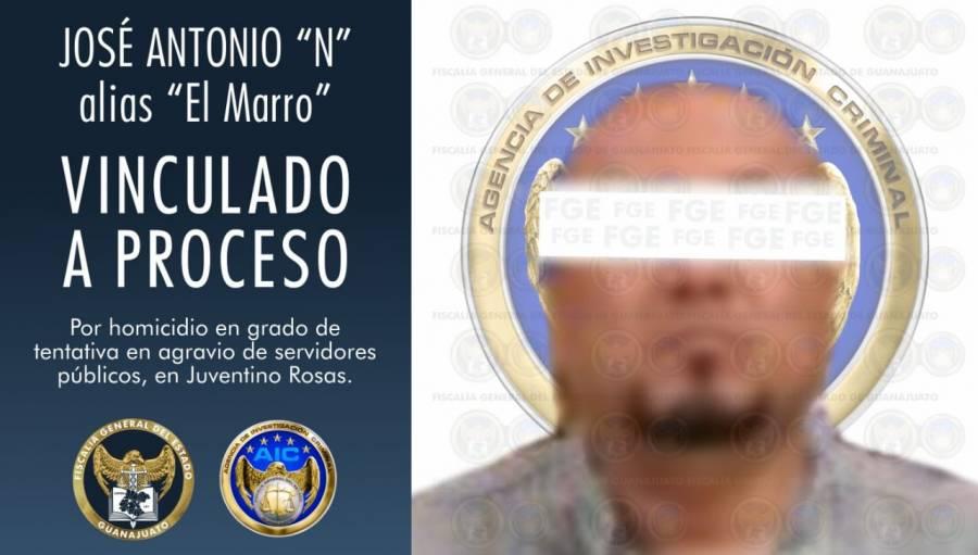 """Vinculan a proceso a """"El Marro"""", líder del Cartel de Santa Rosa de Lima"""
