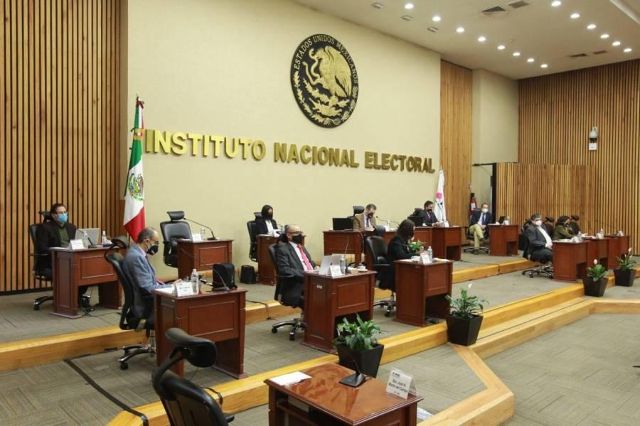 Inicia INE proceso de pérdida de registro contra Fuerza por México, PES y RSP