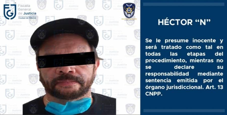 Detienen al actor Héctor Parra por presunto abuso sexual