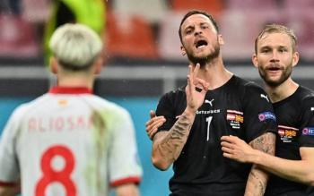 Suspenden al futbolista austríaco Arnautovic; no jugará contra Holanda