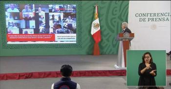 Video: AMLO transmite insulto de Aguilar Camín en su contra