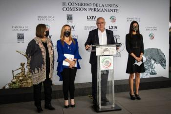 """Presentan senadores acción de inconstitucionalidad contra """"Ley Zaldívar"""""""