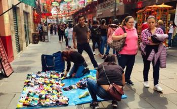 Retiran a comerciantes de Barrio Chino