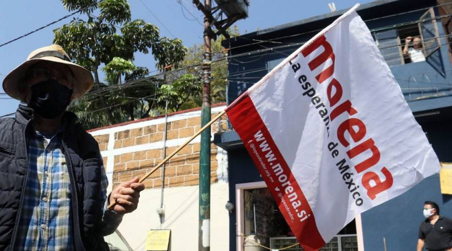 El TEPJF sancionó a Morena por adjudicarse distribución de vacunas Covid-19