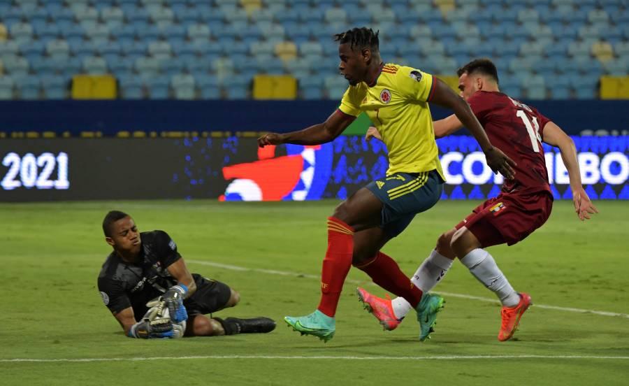 Copa América: Una Colombia sin gol se estrella ante Venezuela