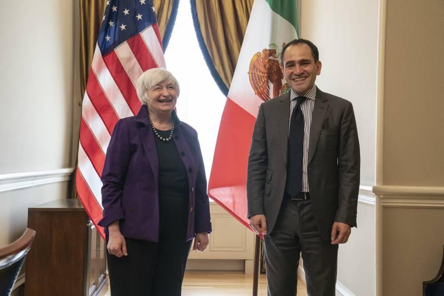 Arturo Herrera se reúne con directora gerente del FMI