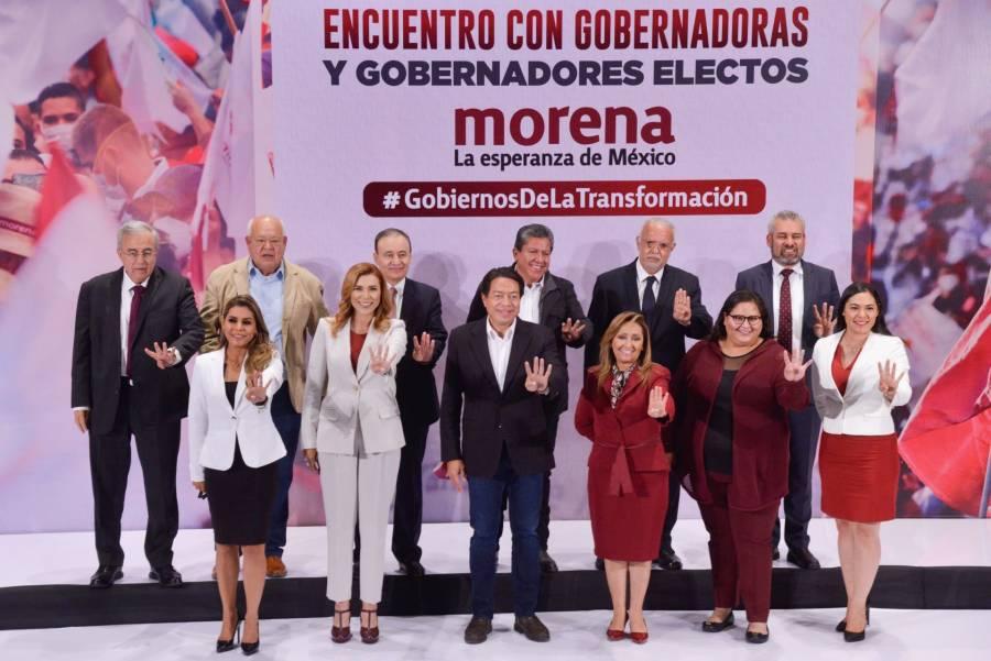 Gobernadores Electos de Morena, plantean reformular la Conago