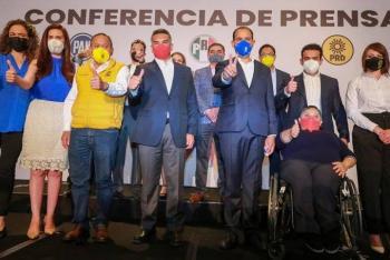 Va por México dice 'no' a las tres reformas de AMLO