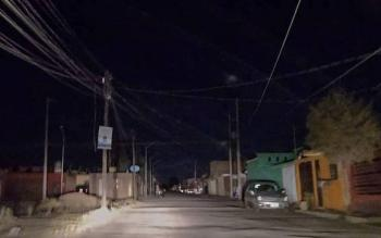 Reportan apagones en Ciudad Juárez