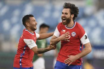 Copa América: Chile vence a una combativa Bolivia